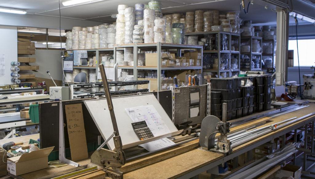 maszyny i materiały - rolety i żaluzje