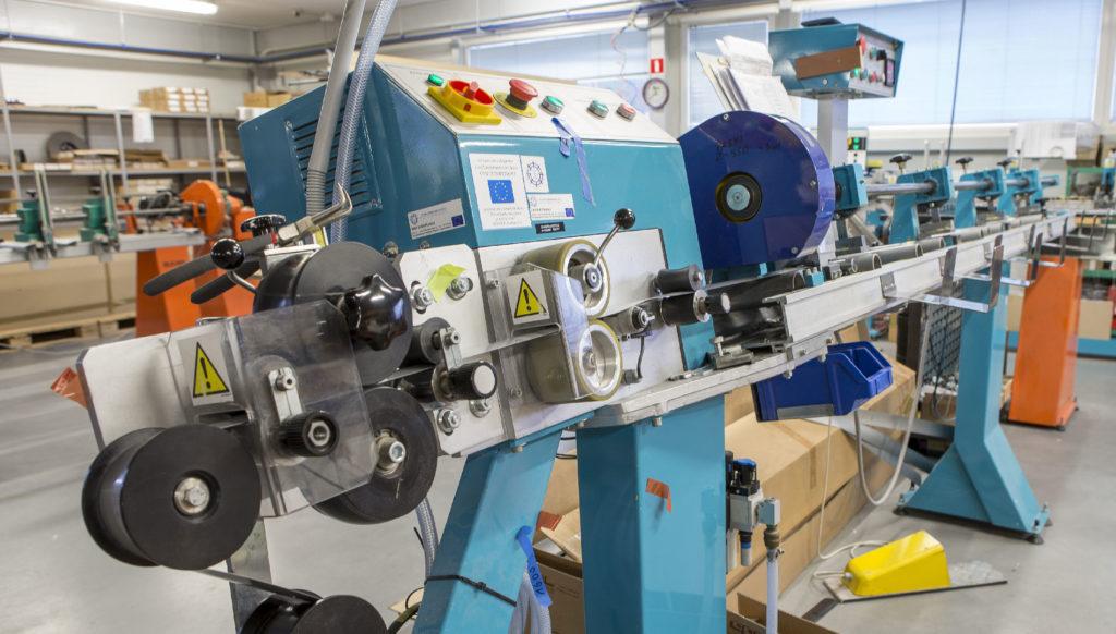 maszyny do produkcji żaluzji i rolet