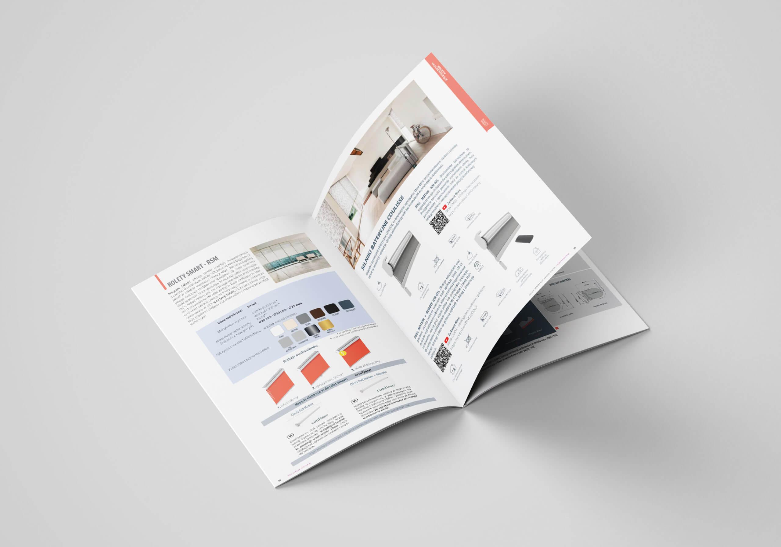 folder produktowy rolety