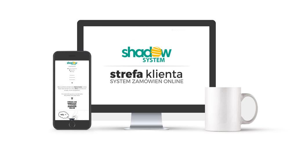 shadow system strefa klienta strefa zamówień online