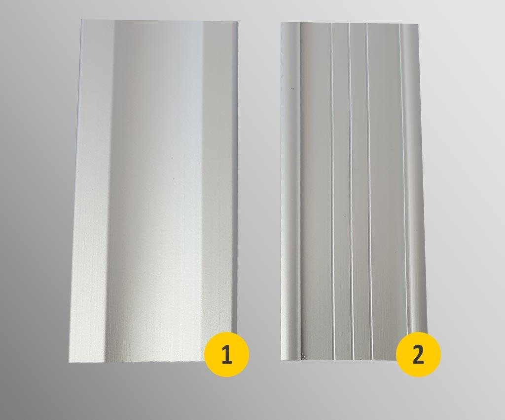 profil nośny dekoracyjny i standardowy